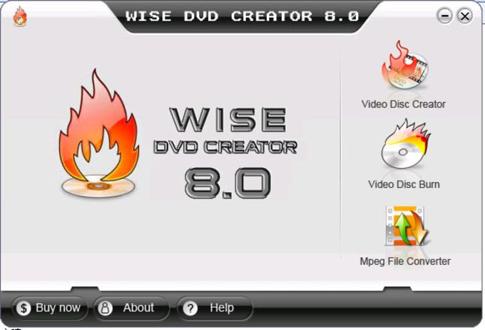 Wise DVD Creator