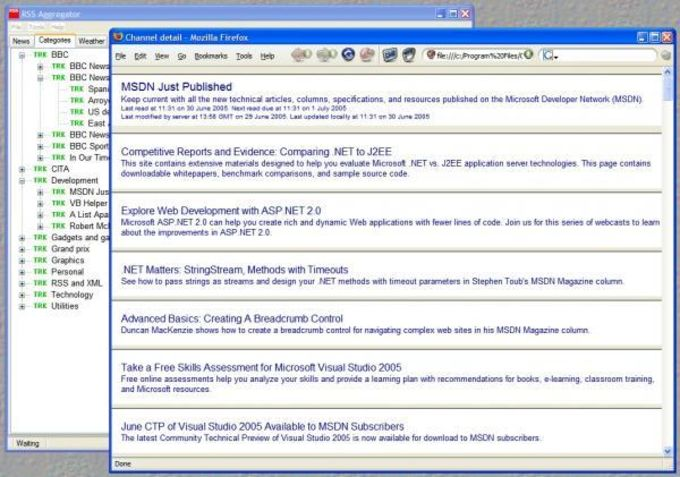 CITA RSS Aggregator