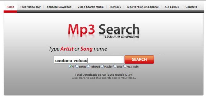 Mp3 Search