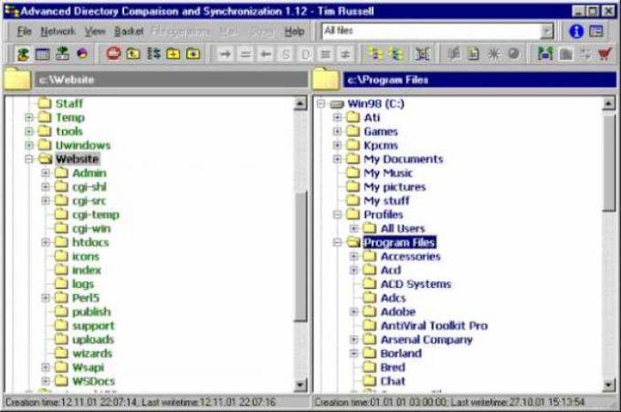 Advanced Directory Comparison and Synchronization