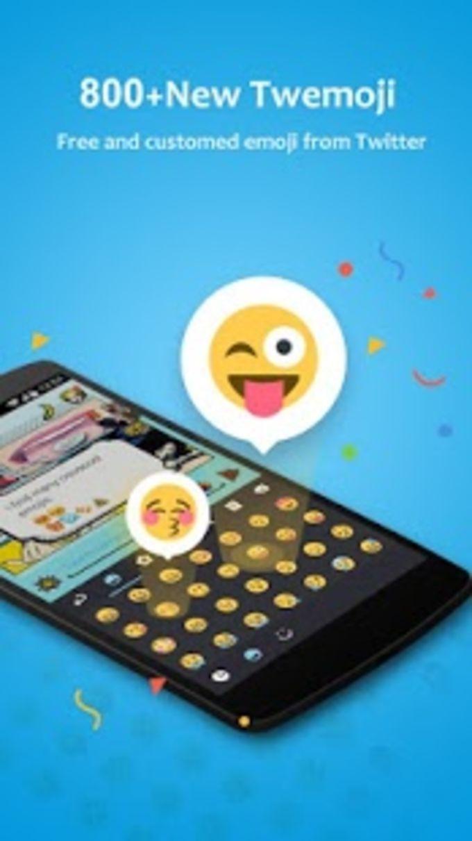 GO Keyboard Lab + Emoji