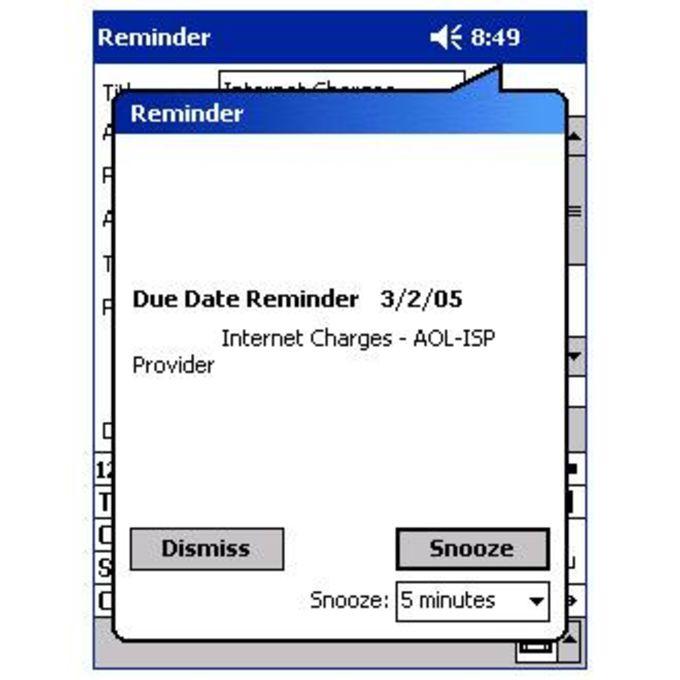 Due Date Reminder