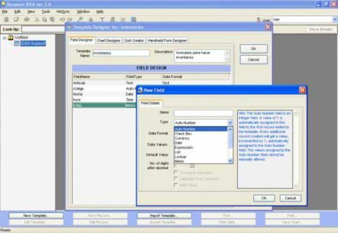 Kenware IDEA Database Engine
