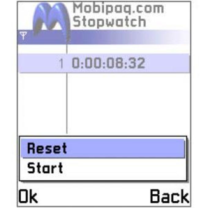 Mobipaq Stopwatch