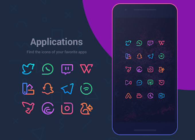 Linebit  Icon Pack