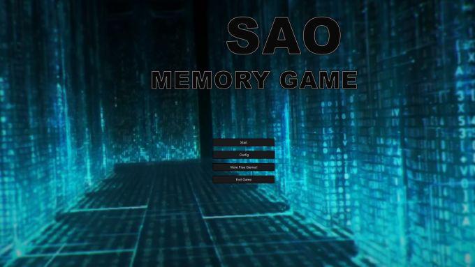 SAO Memory Game