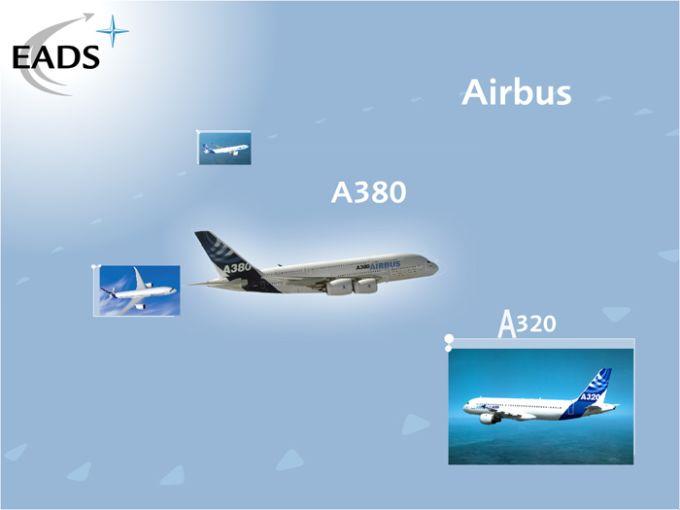 EADS Airbus A 380 Bildschirmschoner