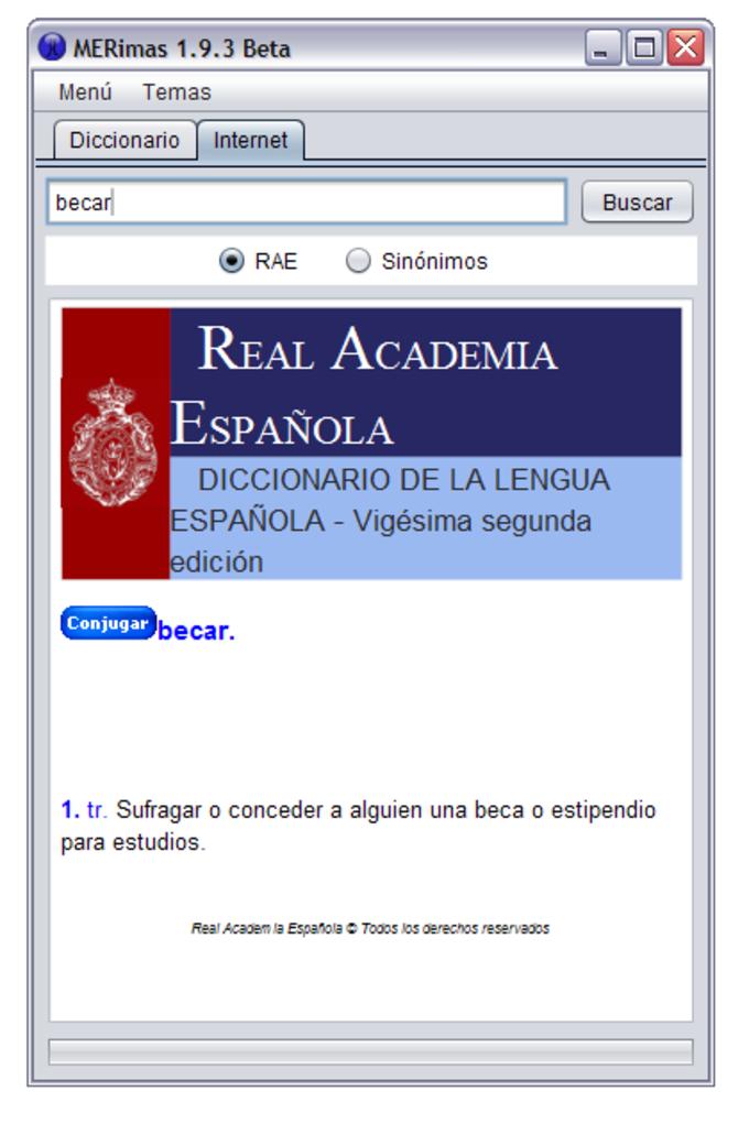 M&e diccionario de rimas