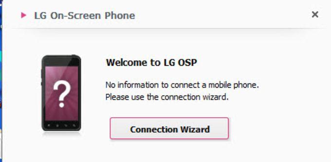 LG On-Screen Phone