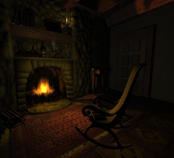 Fireplace - Screensaver animé