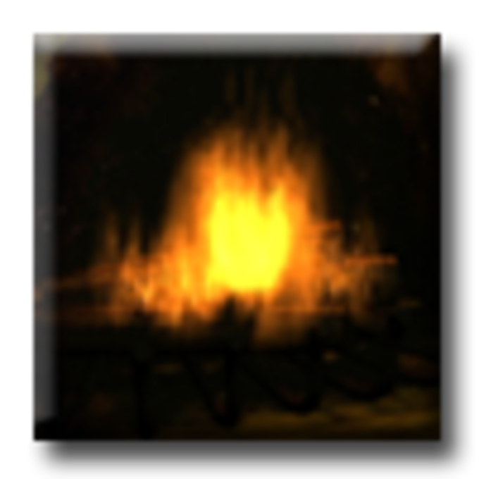 Fireplace - Animated Screensaver