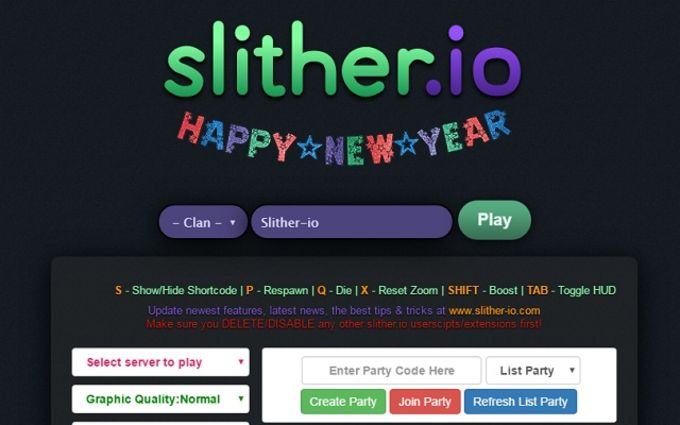 Slither.io Mods, Zoom, Unlock Skins, Bots