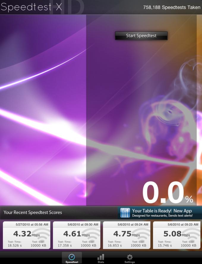 Speedtest X HD