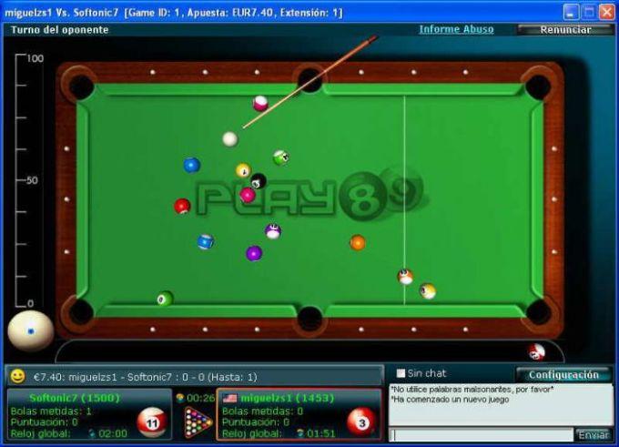 Billar Pool 8 y 9 Ball