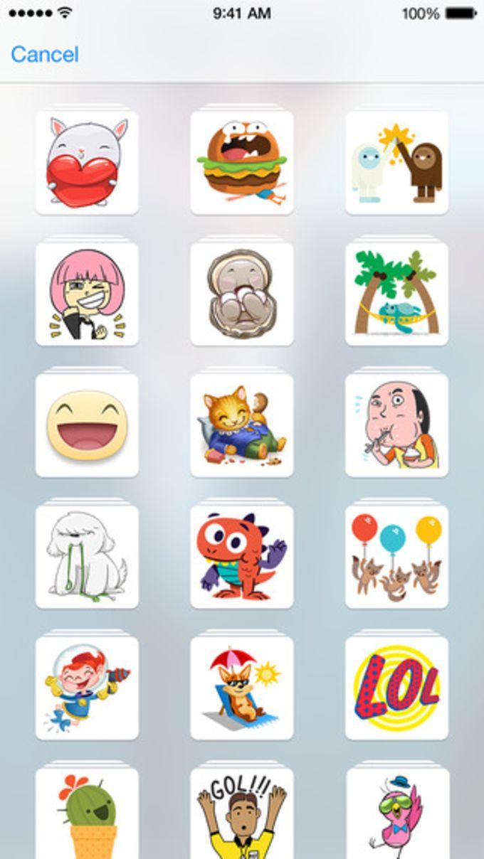 Stickered for Messenger