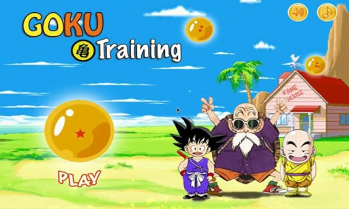 Dragon Ball: Goku training