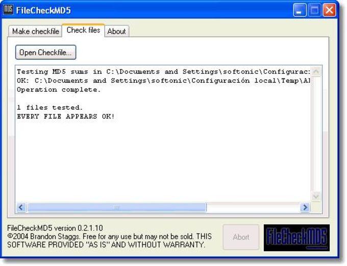 FileCheckMD5