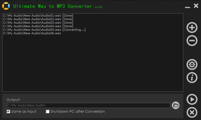 Ultimate Wav to MP3 Converter