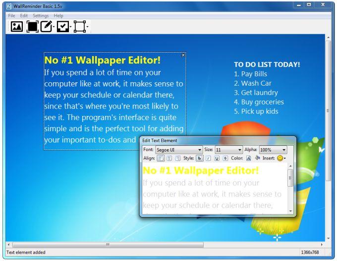 WallReminder Basic
