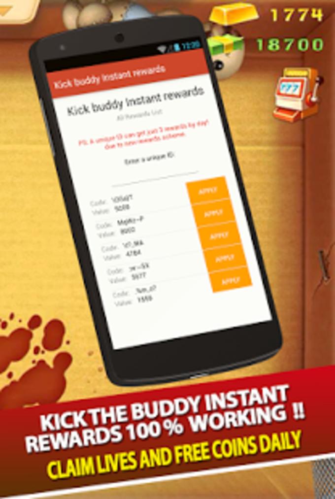 buddyman kick instant rewards
