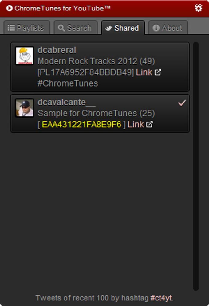 ChromeTunes
