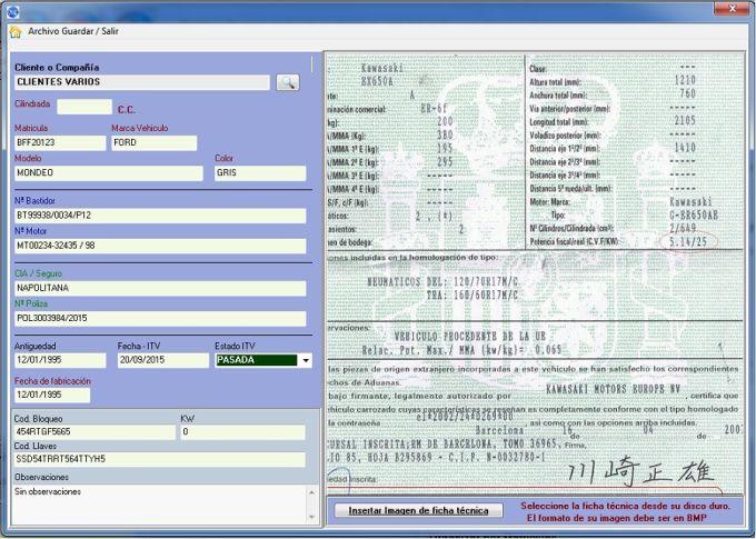 Moto gestion y facturacion 2013
