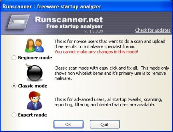 RunScanner