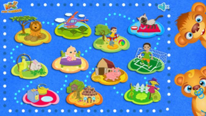 123 Kids Fun ANIMATED PUZZLE (Free App) - Preschool and kindergarten learning games
