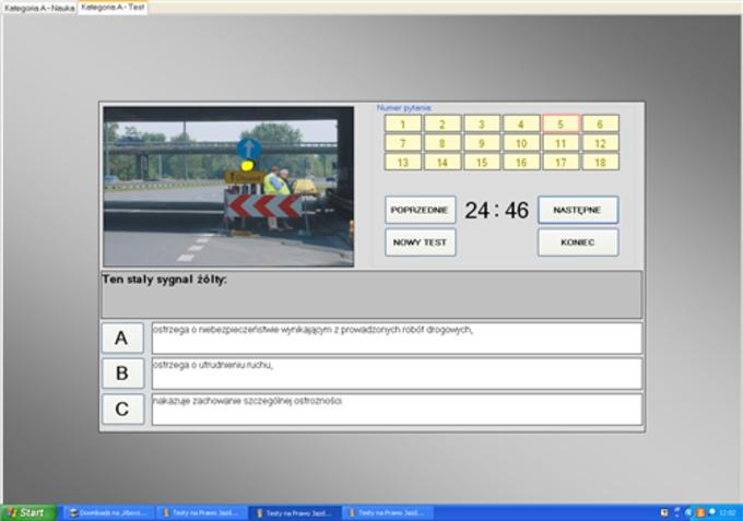 Testy na prawo jazdy pdf 2013
