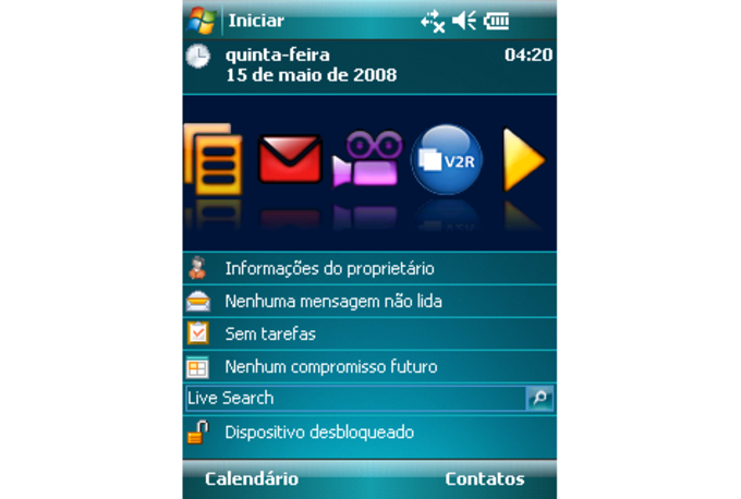 V2R Active UI