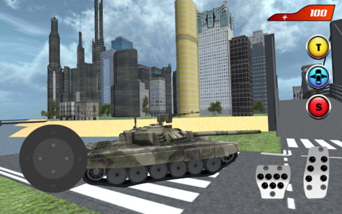 X Ray Flying Tank Robot