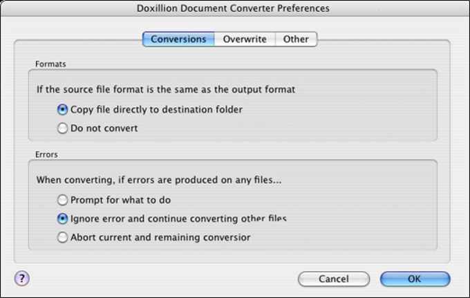 Doxillion Free Mac Document Converter
