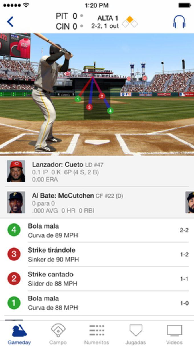 MLB.com At Bat Lite