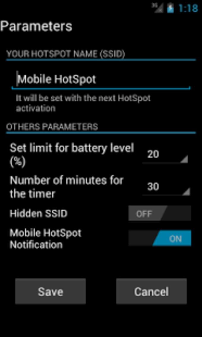 Mobile HotSpot