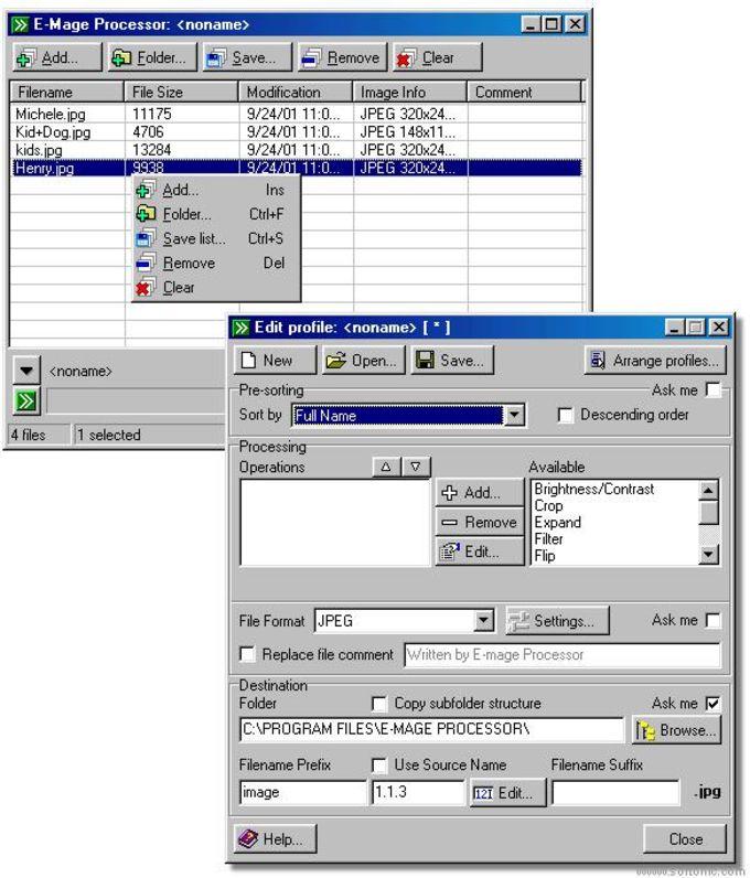 E-Mage Processor