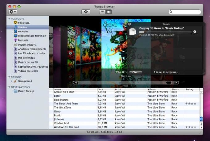 Tunes Browser