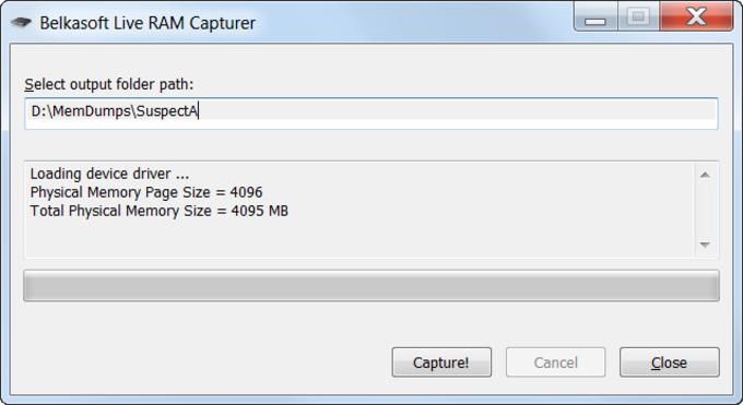 Belkasoft RAM Capturer