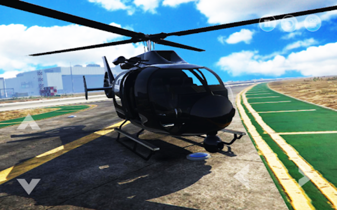 Police Helicopter  Cop Pilot Flying Simulator 3D