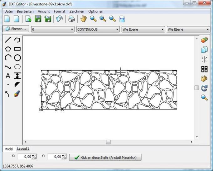 DXF Editor 1 0 Edit Or Create Drawings In The Dxf File