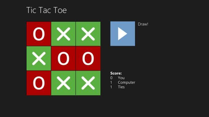 Simple Tic Tac Toe for Windows 10