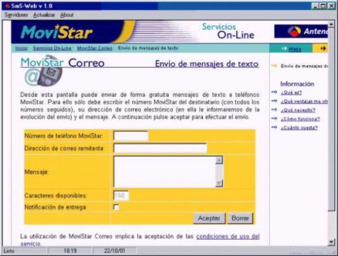 SmS-Web