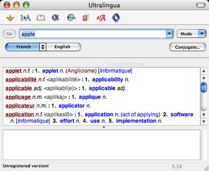 Ultralingua Dictionary