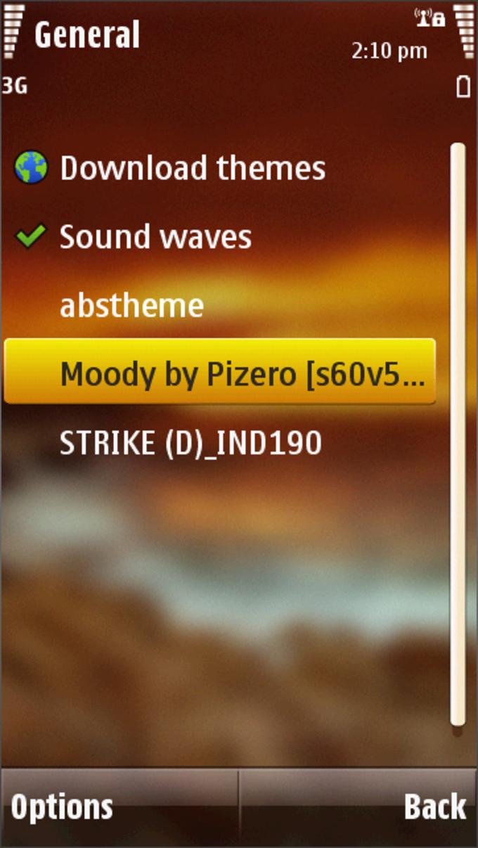 Moody Theme