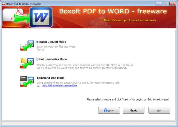 Boxoft PDF to Word