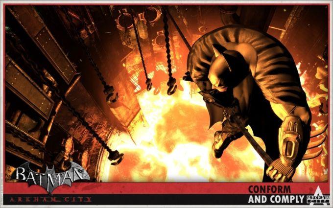 Tapety Batman Arkham City HD