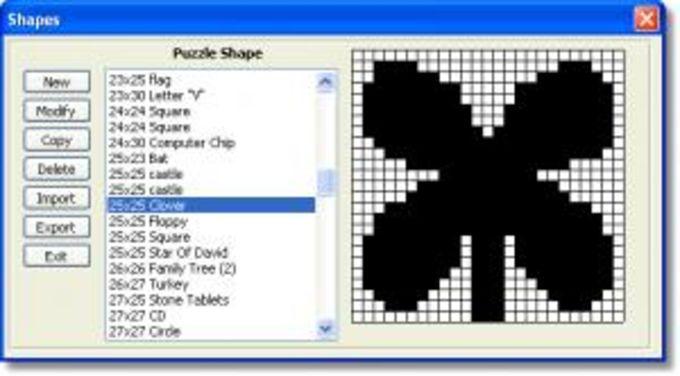 Crossword Construction Kit