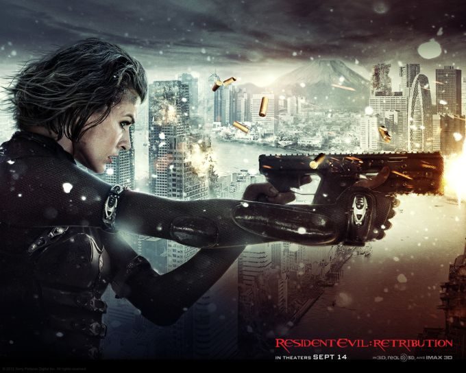 Resident Evil: Retribution Wallpaper