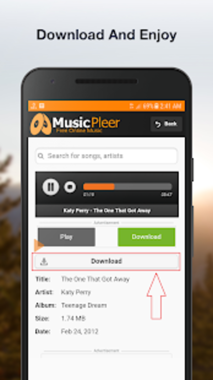 Musicpleer Free Online Music App for Android - Download