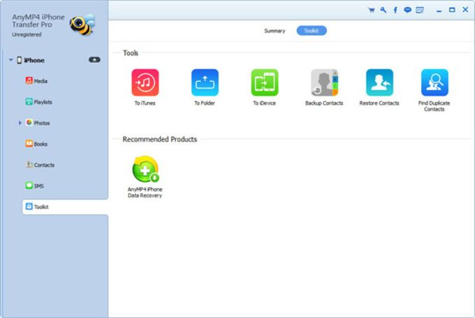 AnyMP4 iPhone Transfer Pro
