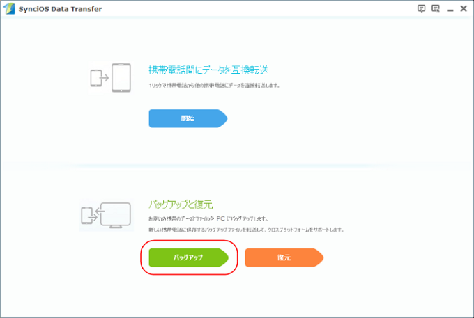 Syncios Data Transfer